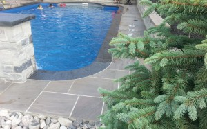 Pool Water Fountain Feature