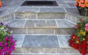 Slab Stone Stairs